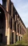 Größte Ziegelbrücke der Welt, in der Nähe von  Bauernstube Oberheinsdorf